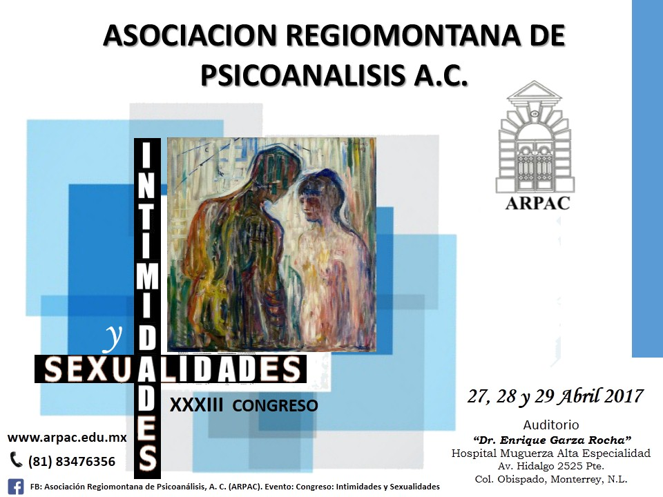 XXXIII CONGRESO DE PSICOANÁLISIS. ARPAC